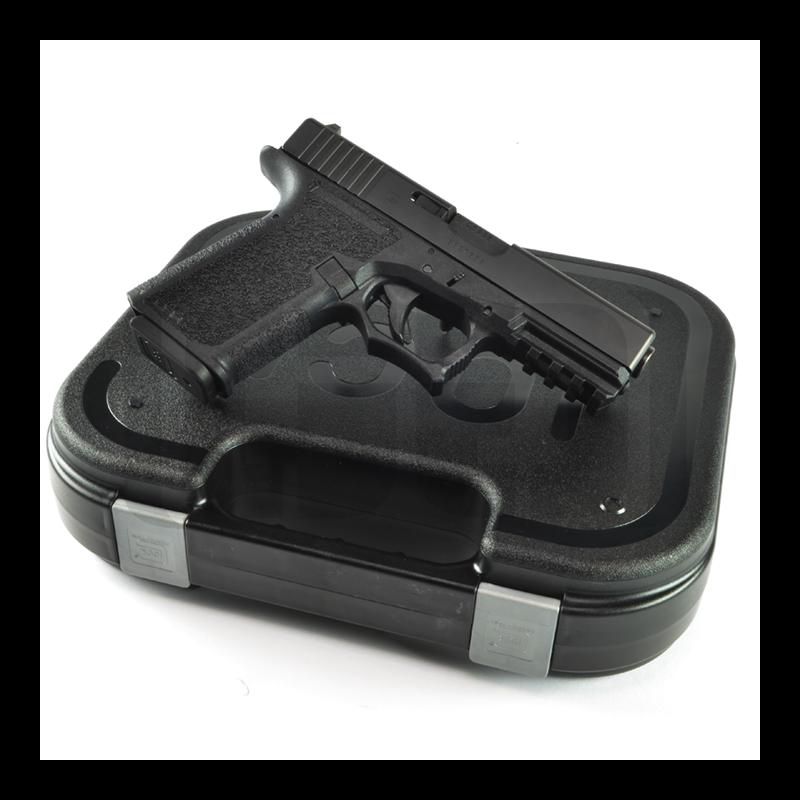 Glock G19 - 80% Pistol Build Kit 9mm - Polymer80 PF940C - Black