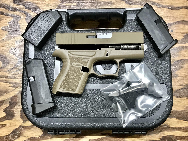 Glock OEM 43 FDE 80% Build Kit SS80