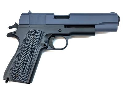 1911 Full Size GI M1911A1/70 45 ACP 80% Builders Kit Black / Civil Defense Blue