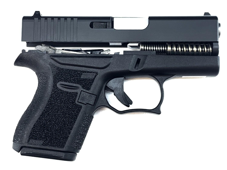 80% Glock 43 Subcompact Full Pistol Build Kit - Black / Black - FRAME NOT INCLUDED