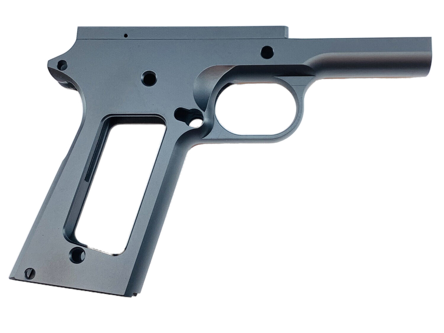 1911 80% 45 ACP Full Size Government Frame - Series 70 Forged 4140 Steel - Black