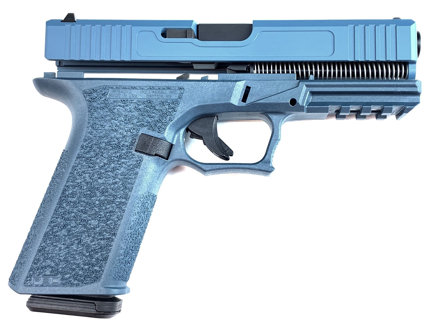 Patriot G17 80% Pistol Build Kit 9mm - Blue Titanium - FRAME NOT INCLUDED