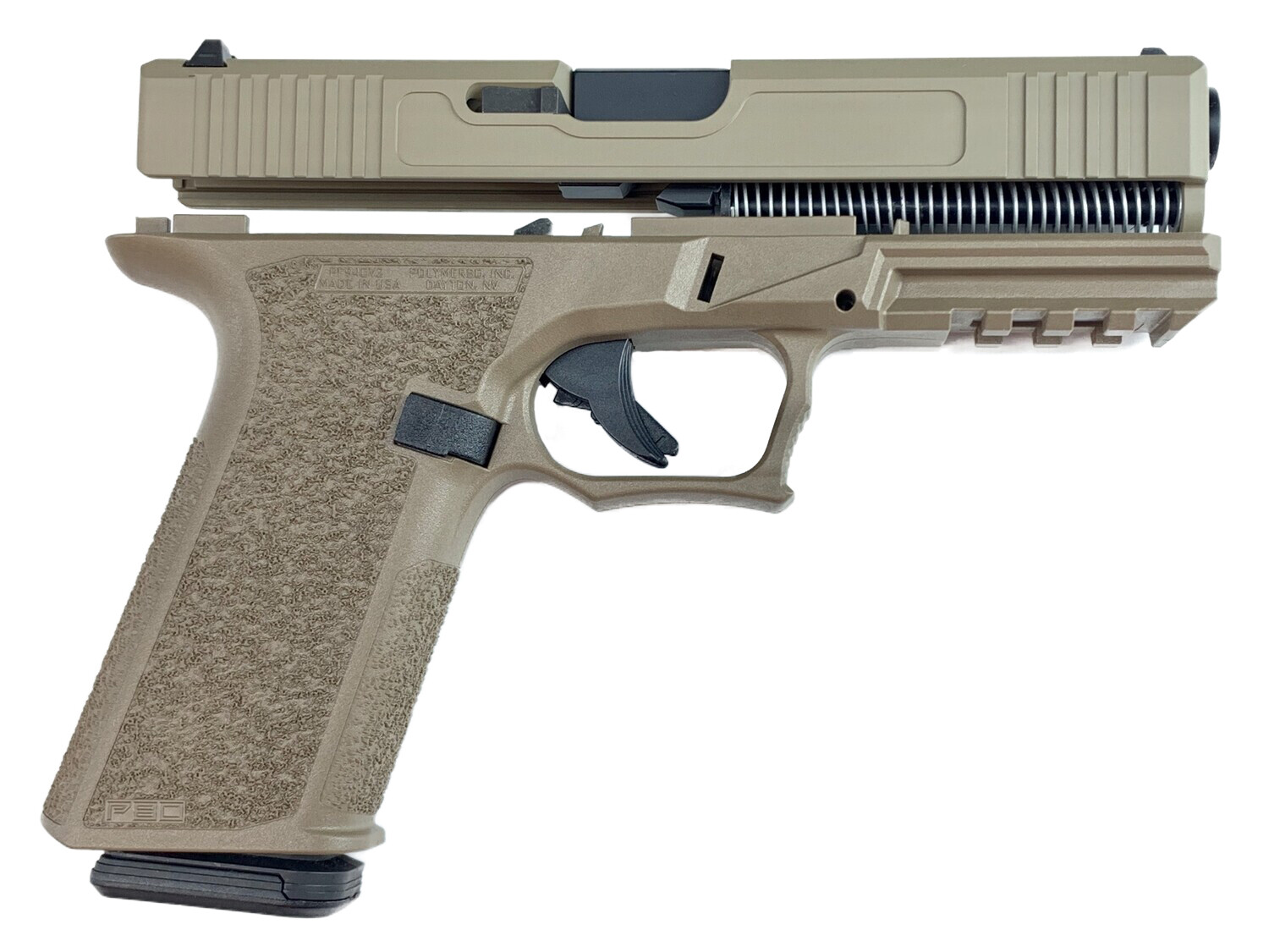 Patriot G17 80% Pistol Build Kit 9mm - FDE - FRAME NOT INCLUDED