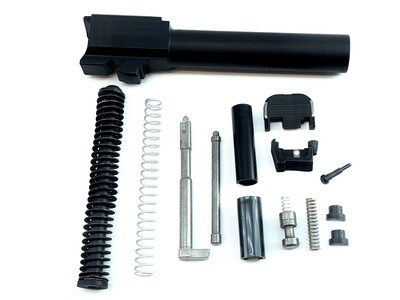 Glock 19 Or 17 Slide Completion Kit Includes: 9mm Black Nitride Barrel - Gen 3 - US Patriot Armory