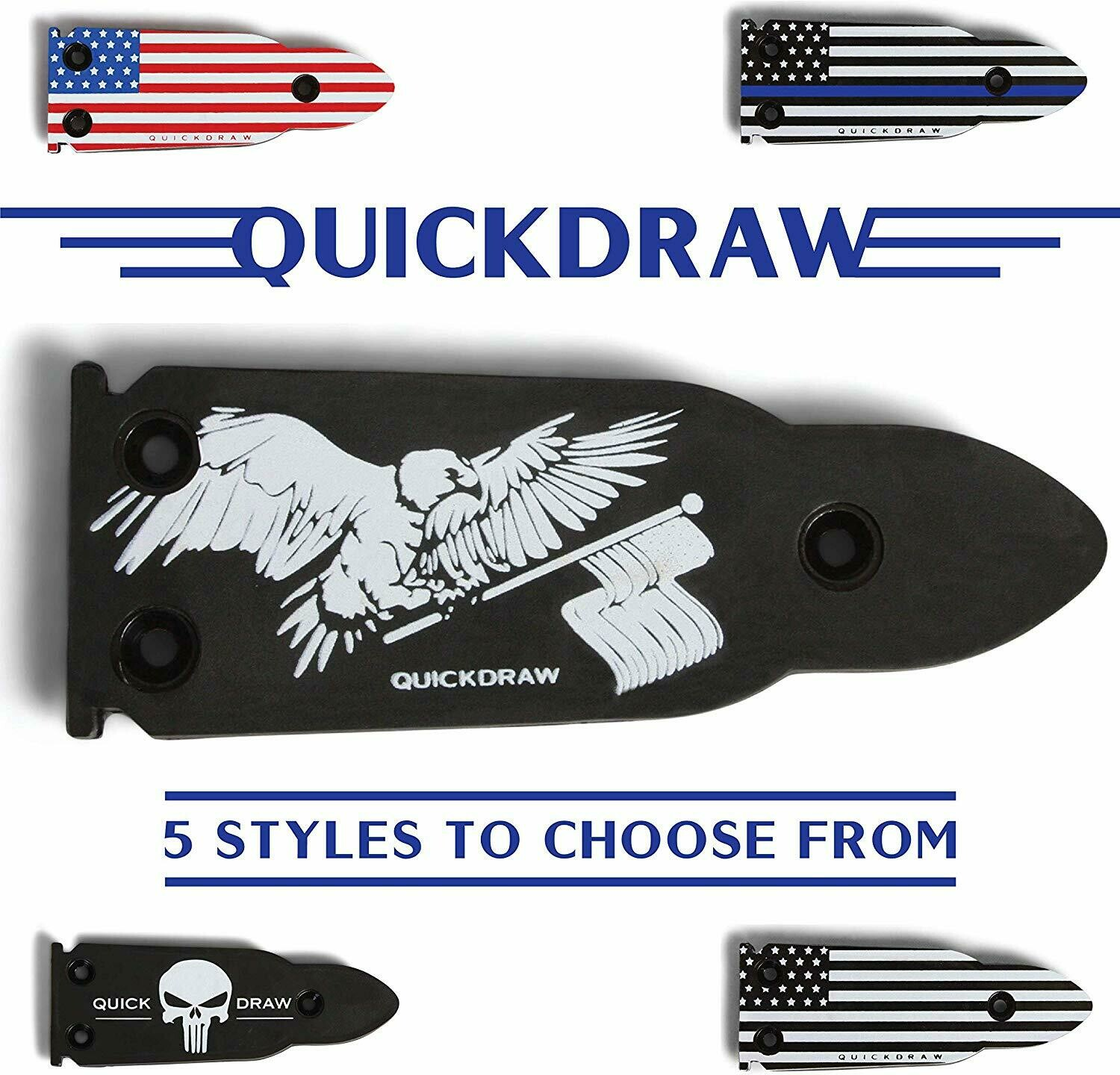 QuickDraw Magnetic Gun Mount - American Eagle