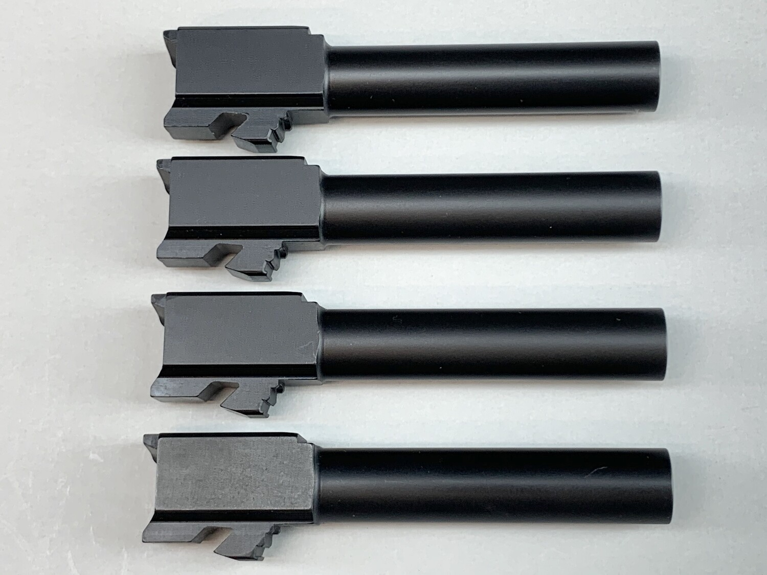 """Battle Pack"" - Includes 4 Count of Glock 19 Barrels - 9mm - Black Nitride Coated"