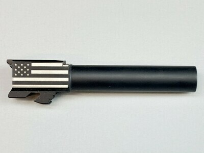 Glock 26 Flag Barrel - 9mm - Black Nitride Coated