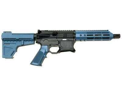 80% AR-15 Jesse James Blue Pistol Kit - 5.56 NATO 7.5