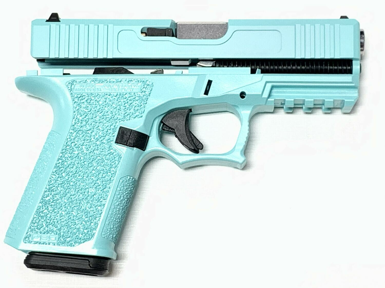 Patriot G19 80% Pistol Build Kit 9mm - Polymer80 PF940C - Robins Egg Tiffany Blue
