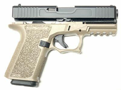 Patriot G19 80% Pistol Build Kit 9mm - Polymer80 PF940C - Black & FDE