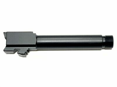 G23 Stainless Black Nitride Threaded 9mm Barrel