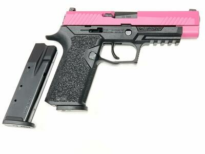80% Sig Sauer - P320 Full Size - 40 S&W - Comes With 2 Mags - Polymer80 PF320PTEX Black Frame - Sig Pink Slide