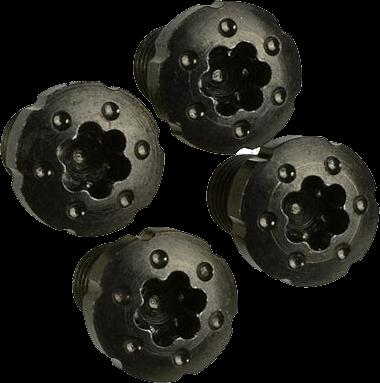 1911 Torx Grip Slimline Screws w/ Black Zinc Coating