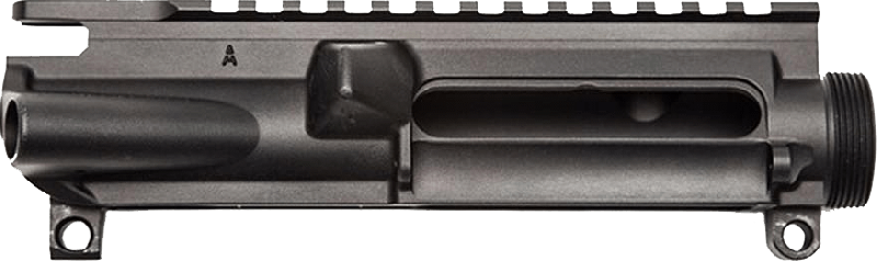 AERO PRECISION AR-15 Stripped Upper Receiver - Anodized Black T-Marked w/ M4- Feed Ramps