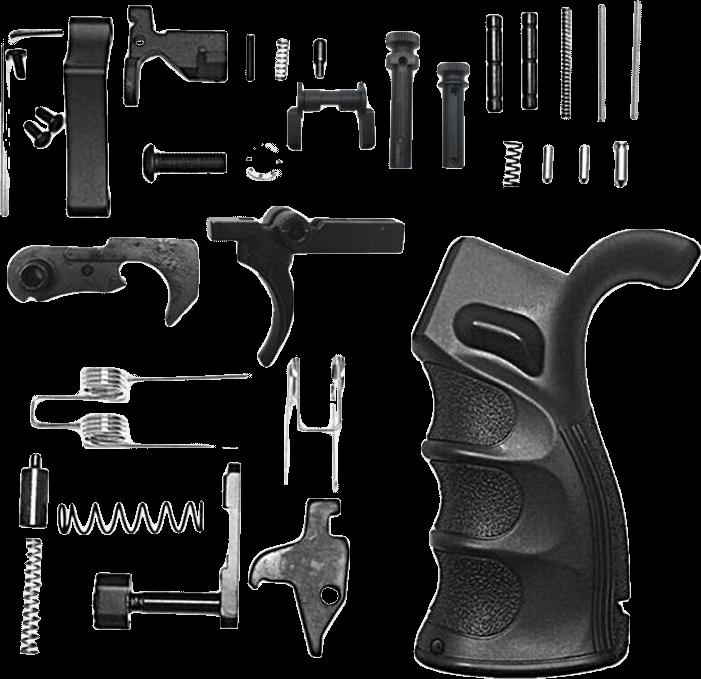 AR-15 Enhanced Lower Parts Kit