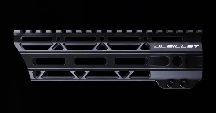 "JL Billet 7.3"" AR-15 Angled M-Lok Free-Float Handguard"