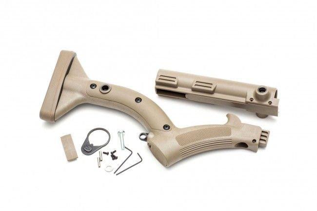 Enhanced Featureless Stock Kit FRS-15 - FDE