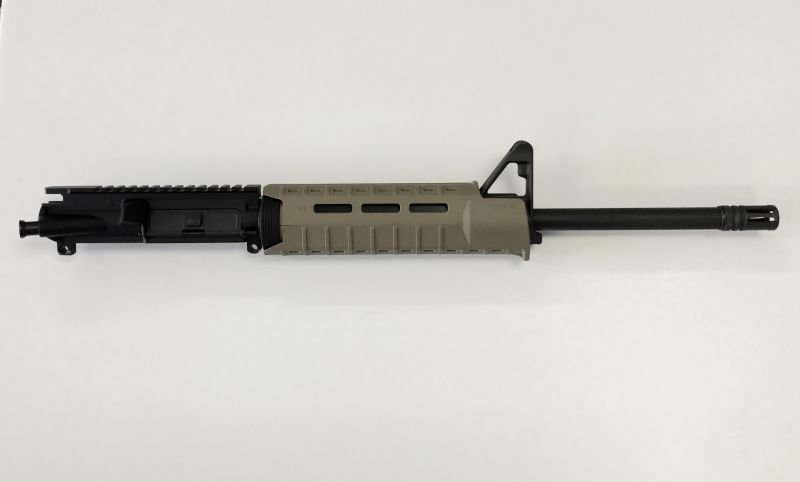 300 AAC Black-out 1:8 Complete Upper w/ Front Sight Base Magpul Moe SL Hand Guard FDE