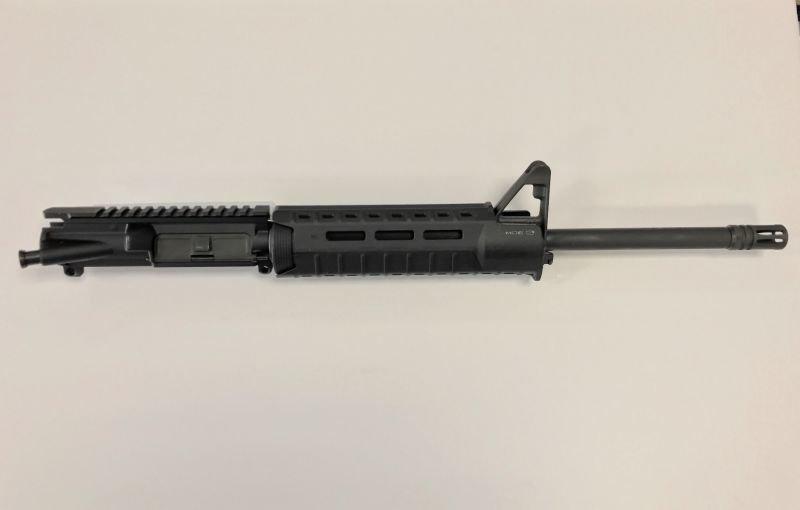 7.62X39 1:10 Complete Upper w/ Front Sight Base Magpul Moe SL Hand Guard BLACK
