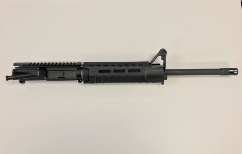 5.56 1/9 Twist Complete Upper w/ Front Sight Base Magpul Moe SL Hand Guard BLACK