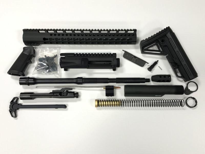 """AR-15 16"""" 15"""" Keymod Rail - Complete Rifle Build Kit"""