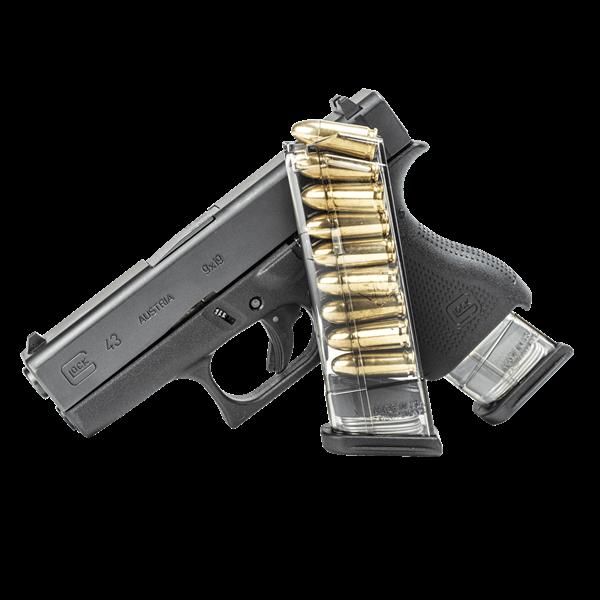ETS Glock 43 - 9mm - 9 Round Magazine