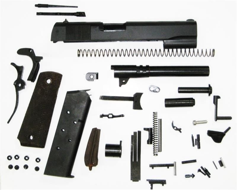 1911 Government GI 70 Series 9mm Parts Kit