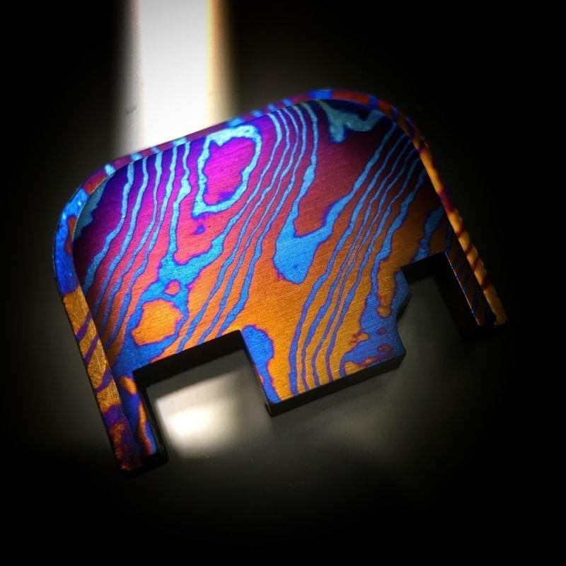 Standard Moku-Ti Glock Back Plate #24