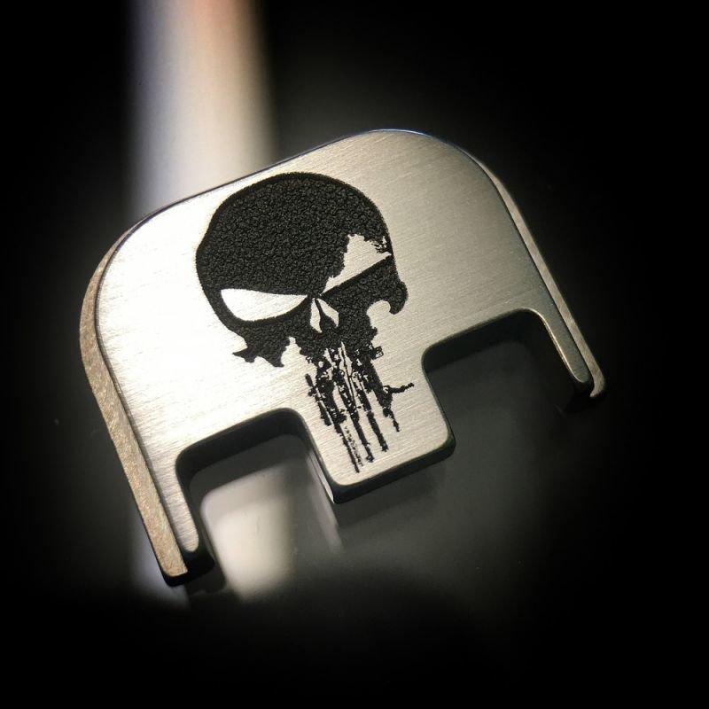Rifle Skull - Titanium Back Plate
