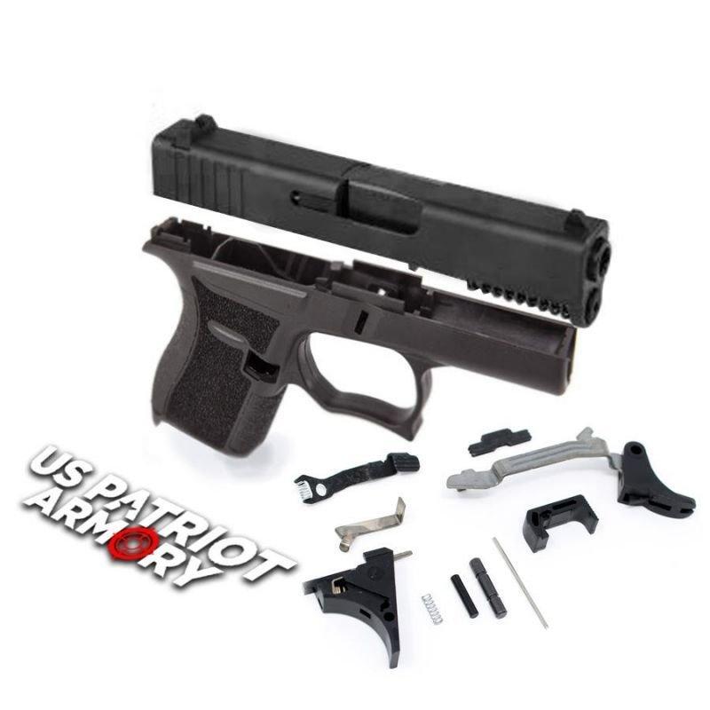 SS80 Glock 43 Black 80% Pistol Build Kit