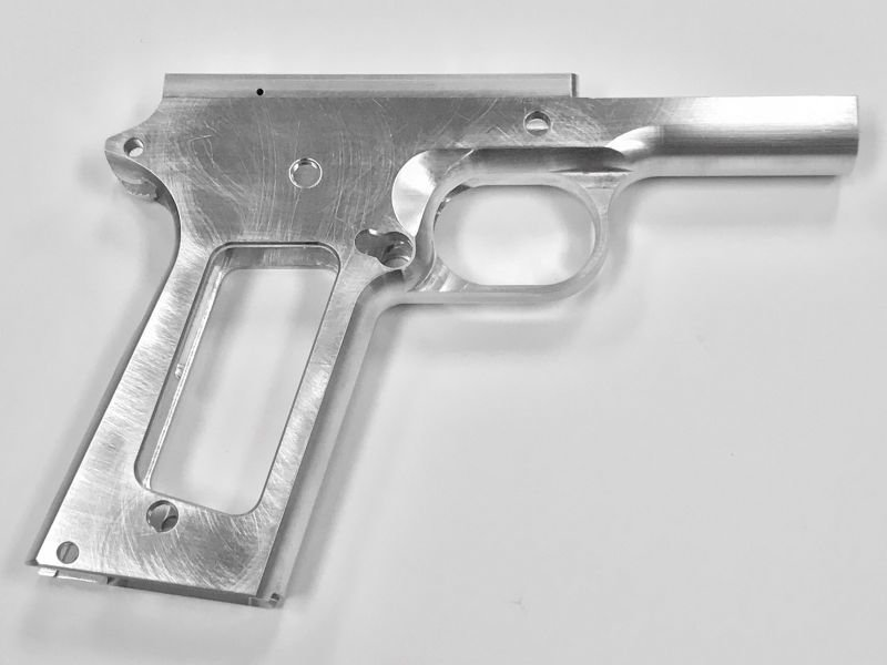 1911 80% 9mm Government Full Size 70 Series - Aluminum Frame