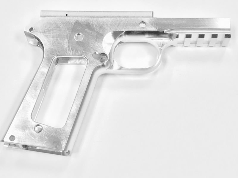 1911 80% Tactical Government Frame - 9mm - Aluminum