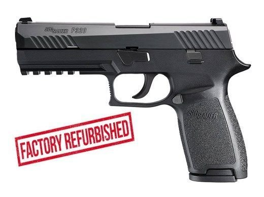 80% Sig Sauer - P320 Full Size Factory Refurbished - 40 S&W - Comes With 2 Mags