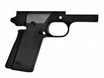 1911 80% Full Size Frame - A2 (Double Stack) 9mm Rock Ultra -  Series 70 Forged 4140 Steel Black