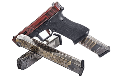 GLOCK Magazines ETS 9mm Glock 17 - 31 Rnd Mag - Cannot be Shipped to the Following States: CA, CO, CT, DC, HI, MA, MD, NJ, NY and VT.