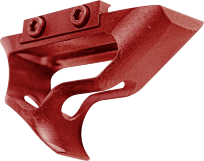 Enforcer Mini Angled Foregrip - Red