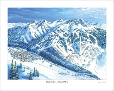Telluride Art Poster
