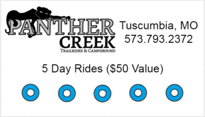 5 Day Rides - $25 ($50 value)