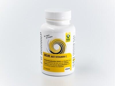MSM + Vitamin C - Kapseln