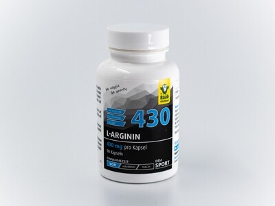 L-Arginin 430 mg - Kapseln