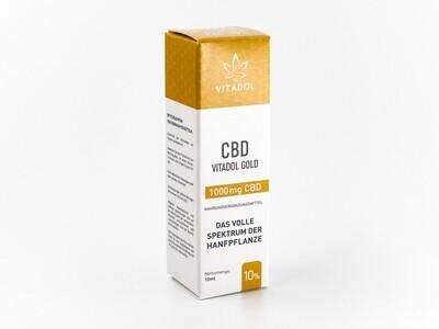 Vitadol Gold 10% CBD Öl