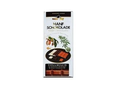 Hanf-Zeit – Schokolade Vollmilch 100g
