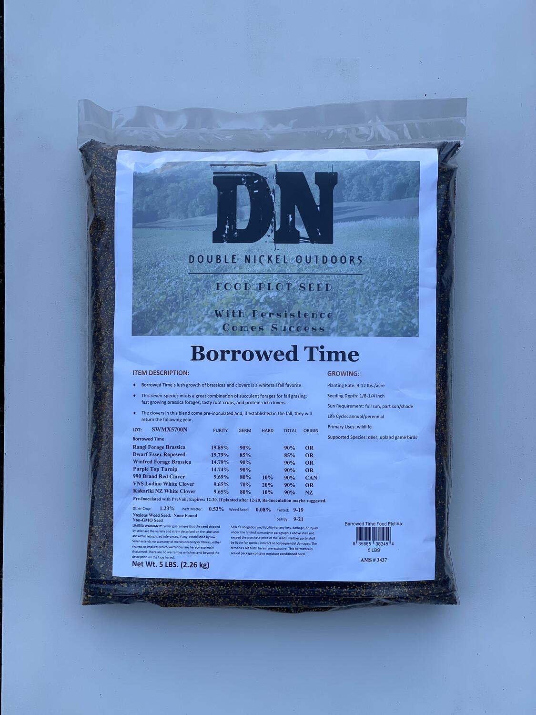 Borrowed Time Seed 25lb Bag