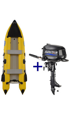 Xcape Marine Pilot 3.65 And Engine Package