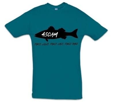 430AM SEA BASS TEE (Deep Water Blue)
