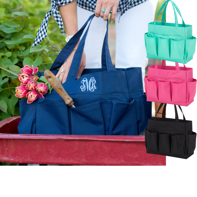 Carry All Multipurpose Tote- 4 Color Options and Personalization Available