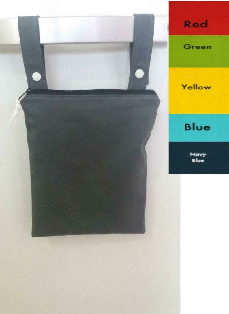 Solid Color Wet Bag-Customization and Personalization Available