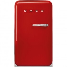 SMEG - 130L, 55cm Fiery Red Retro Bar fridge