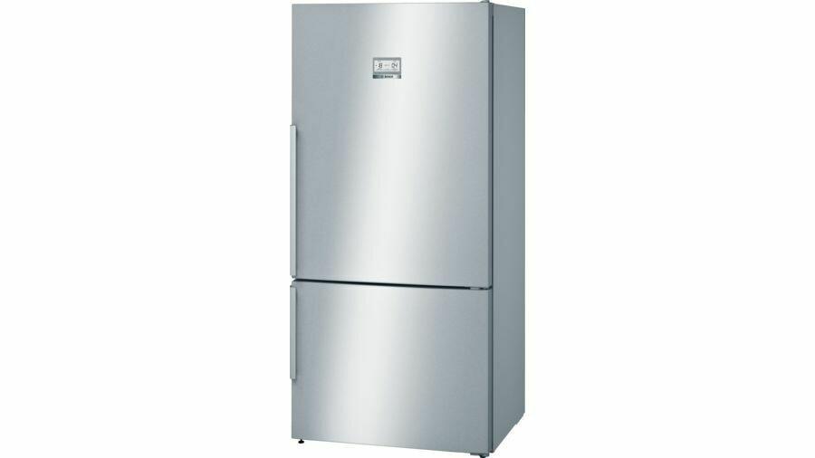 Serie | 6 Freestanding Fridge-freezer (Bottom freezer) 186 x 86 cm Stainless steel (with anti-fingerprint)