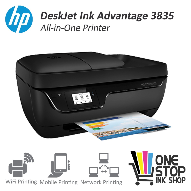 HP Officejet 3835 All in One Wifi printer